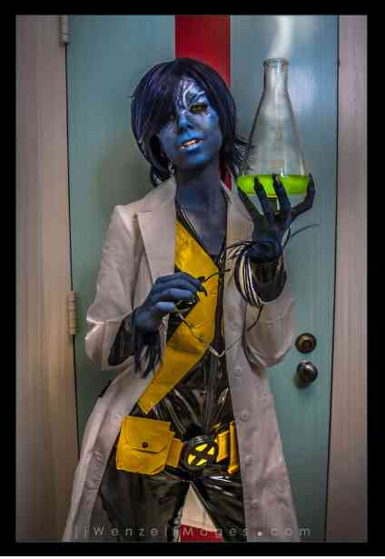 femme beast cosplay