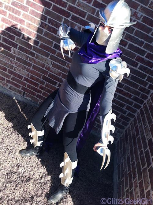 Easy To Make Shredder Costume « Adafruit Industries