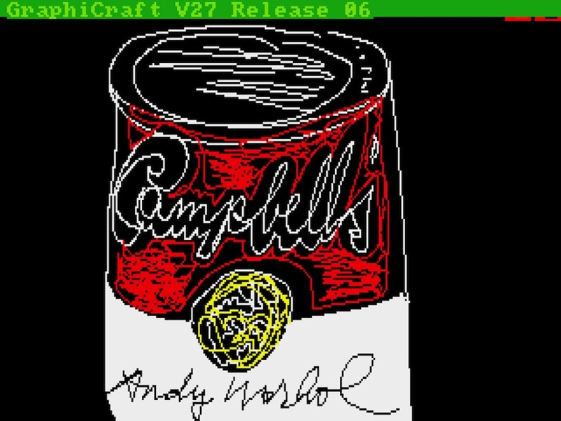 2 Andy Warhol Campbells 1985 AWF verge super wide