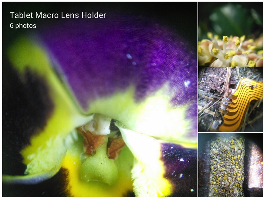 Chris Mellor Google Quick and dirty macro lens mount The lens is held in the