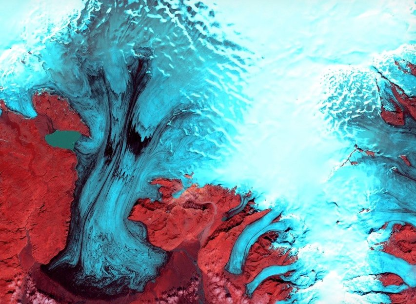 Earth becomes art in breathtaking satellite imagery The Verge