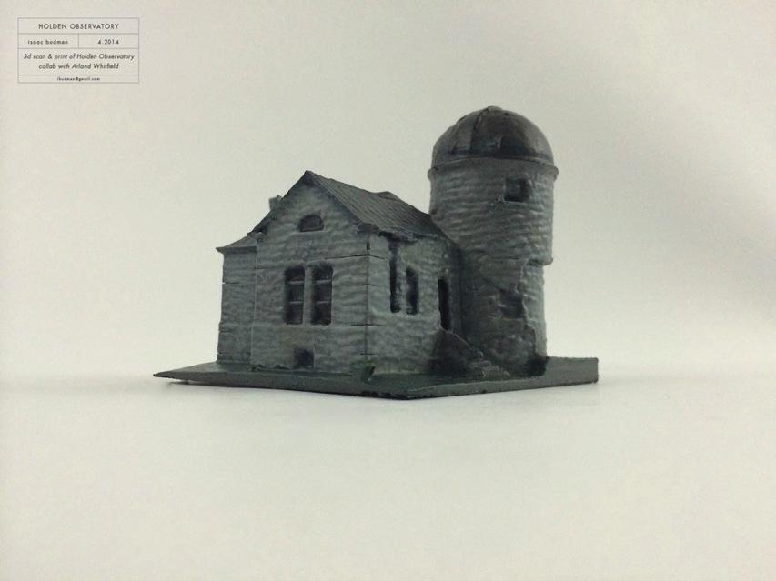 Holden Observatory 3D Scanning a Full Size Building