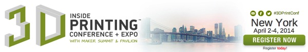 Inside 3D Printing Conference and Expo for Additive Manufacturing Professionals