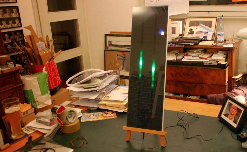 NeoPixel Thermo Hygrometer