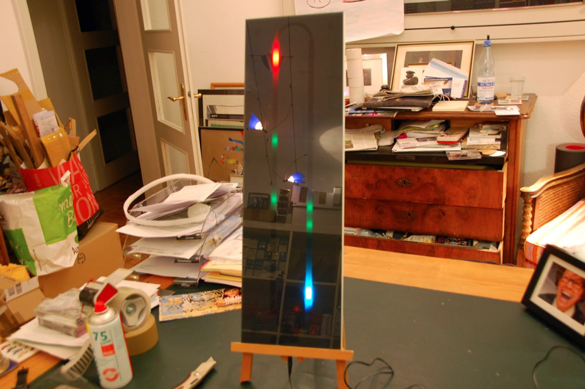 NeoPixel Thermo Hygrometer02