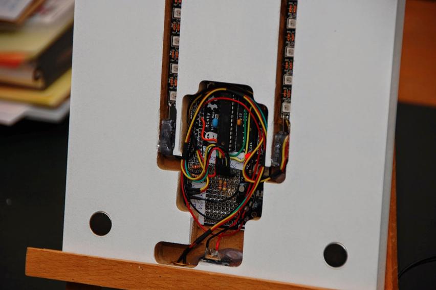 NeoPixel Thermo Hygrometer03