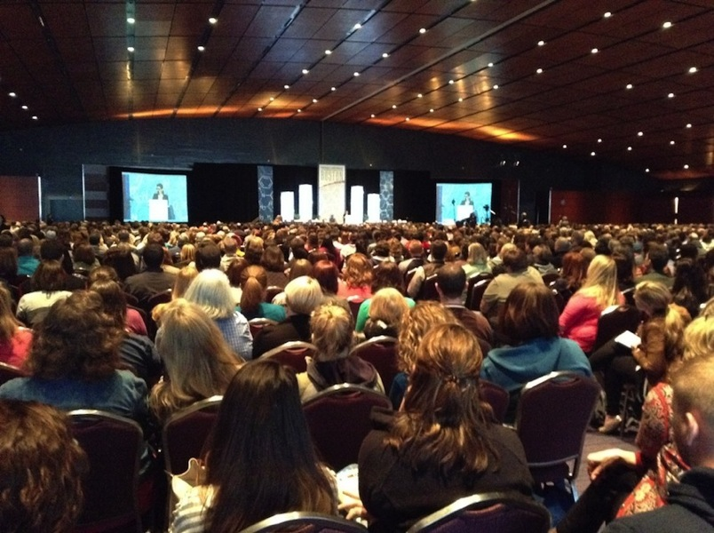 Packed Keynote at NSTA14 Day 1 1024x764