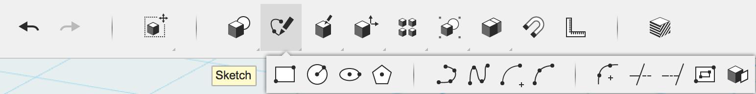 123D Design 1.4 Tools