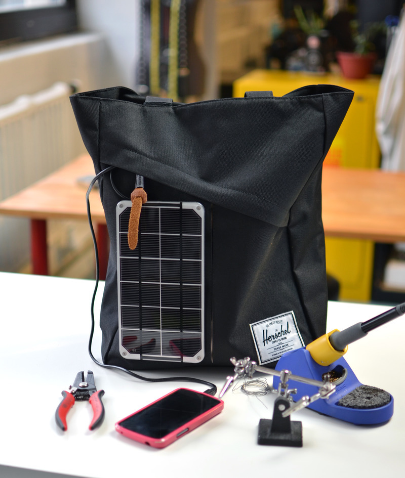 Solar Handbag