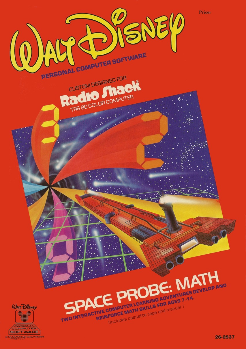 Space Probe Math - Front