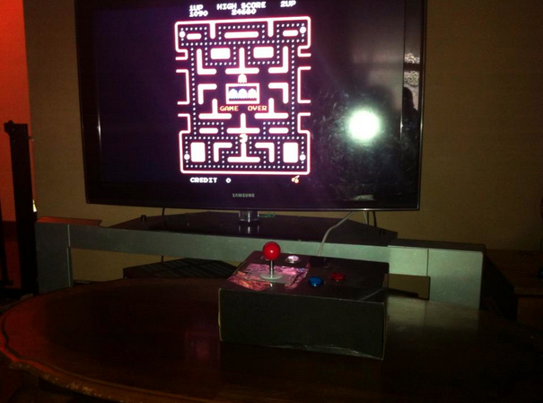 The Arcade with Pi Lets get Physical The Kingdom of Philtopia