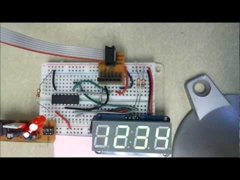 7 Segment Multiplexing With ULN2003 PNP Transistors