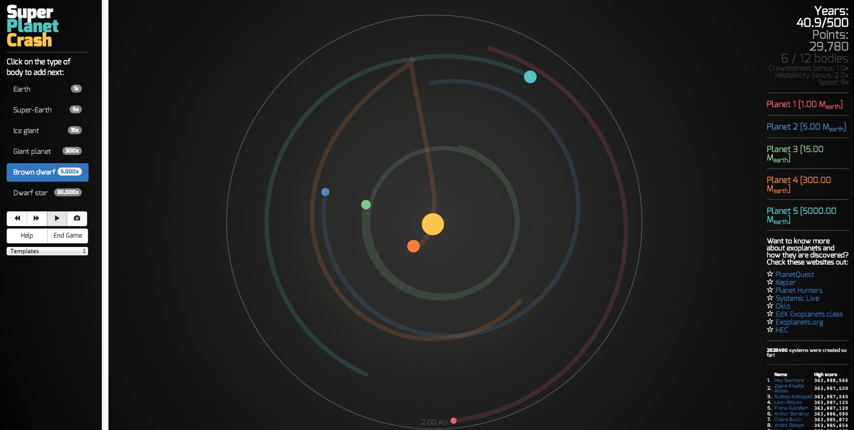 gravity planets solar system - photo #10