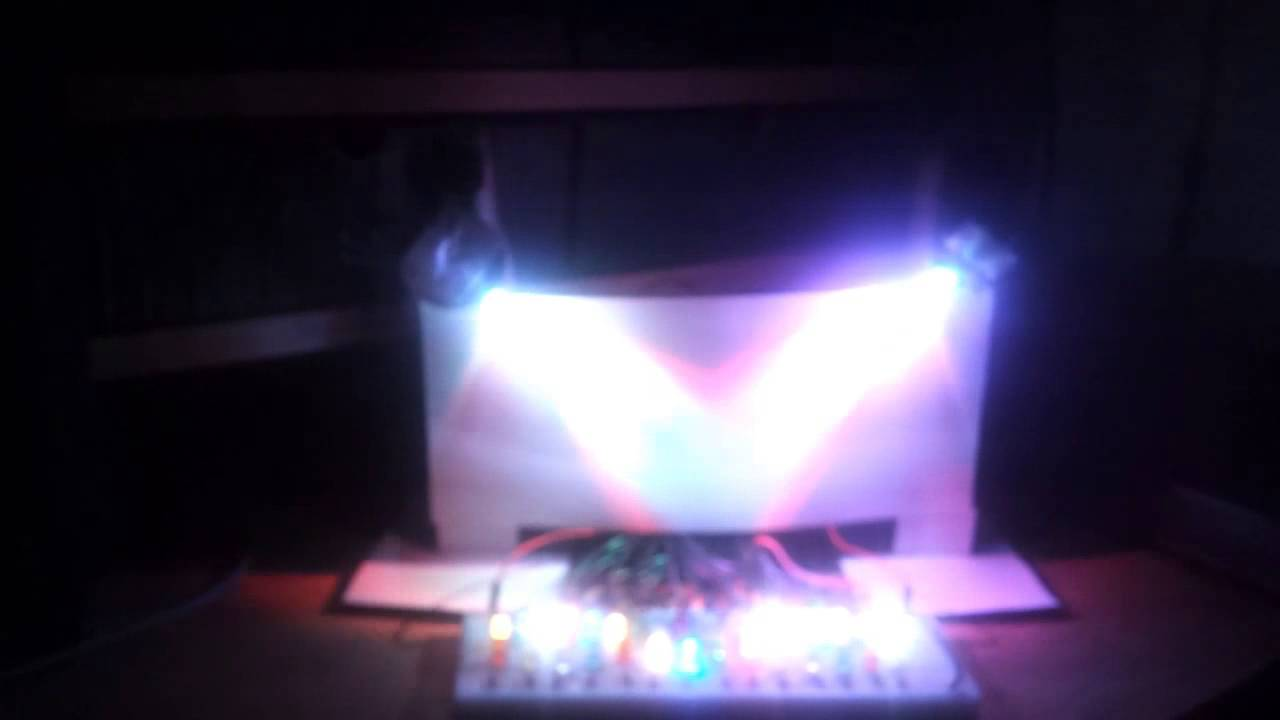 Arduino led light show projects from asimowalk
