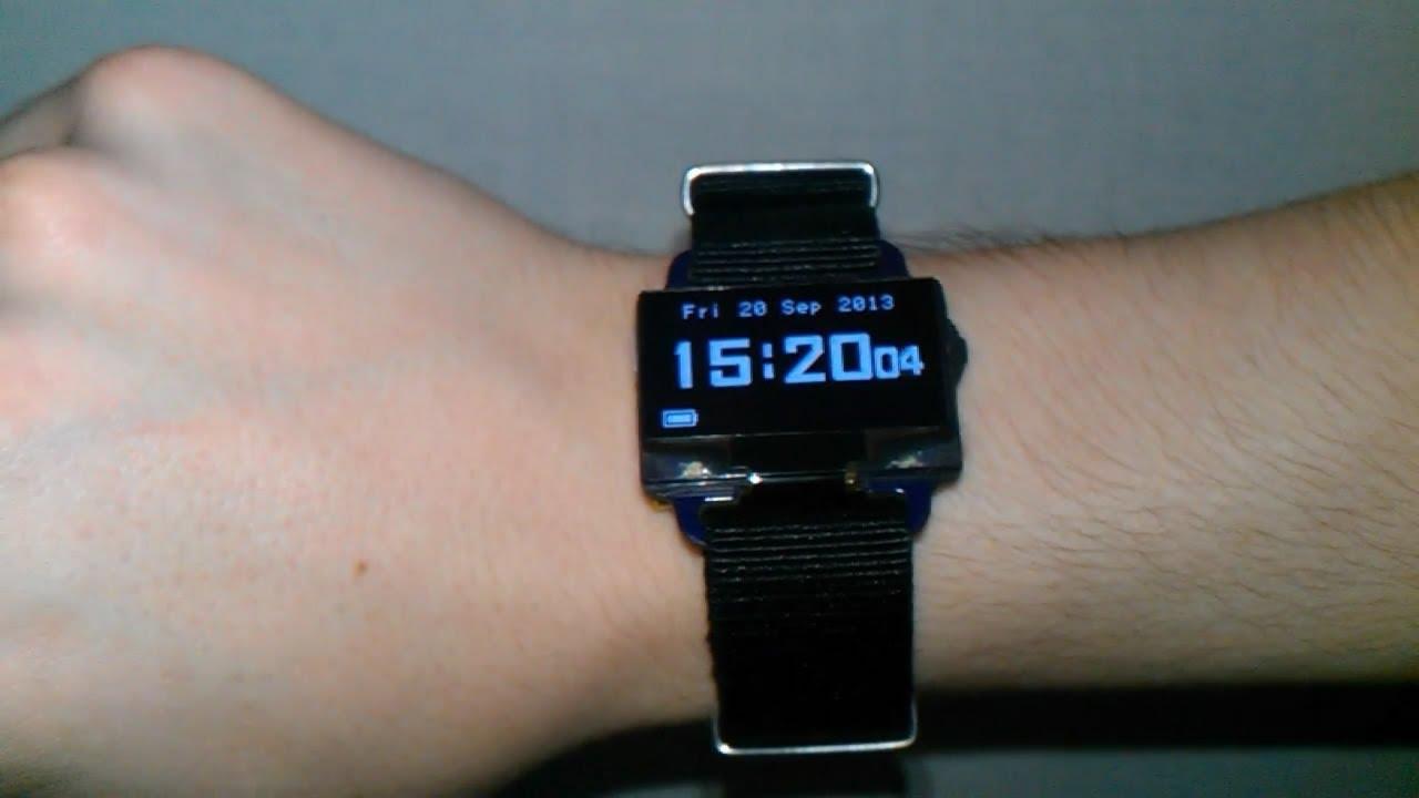 Diy digital wristwatch wearablewednesday « adafruit