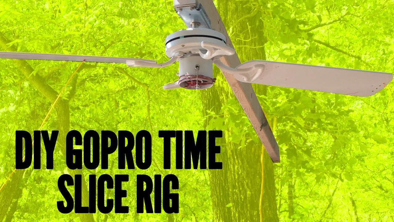 Diy Time Slice Bullet Time Rig With A Ceiling Fan And