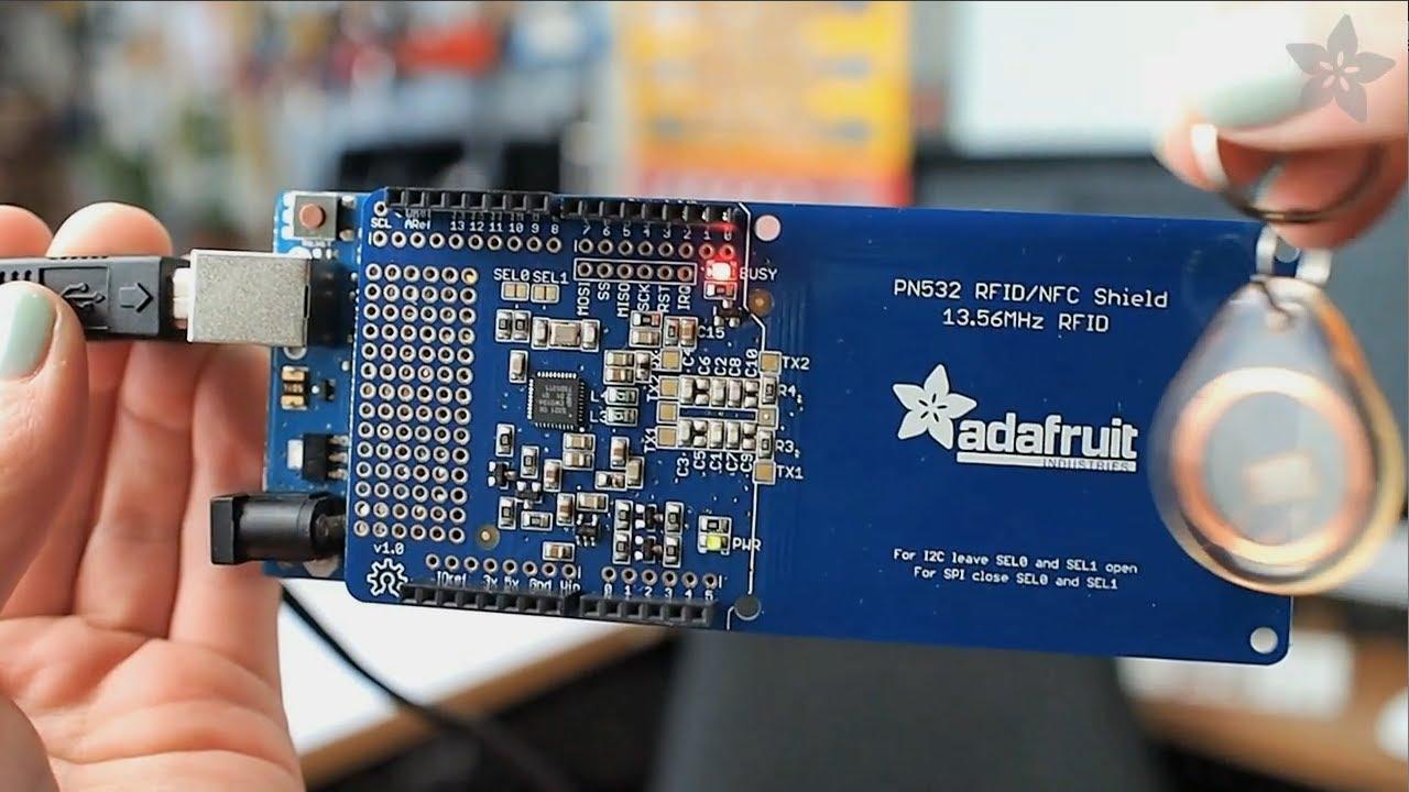 RFID Door Lock Shield Freetronics Electronics