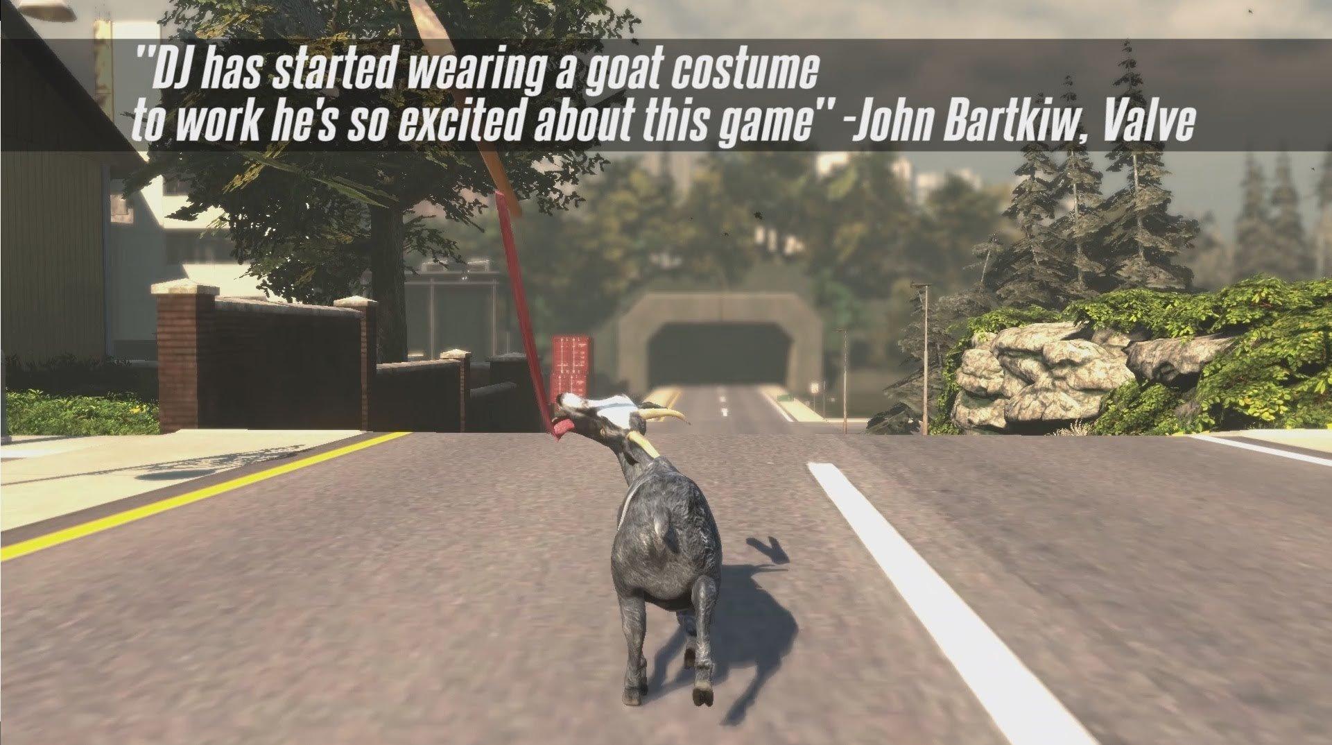 goat simulator demo free