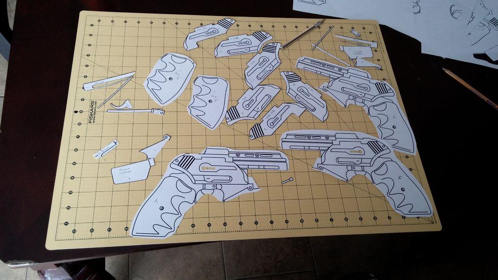 gun pattern