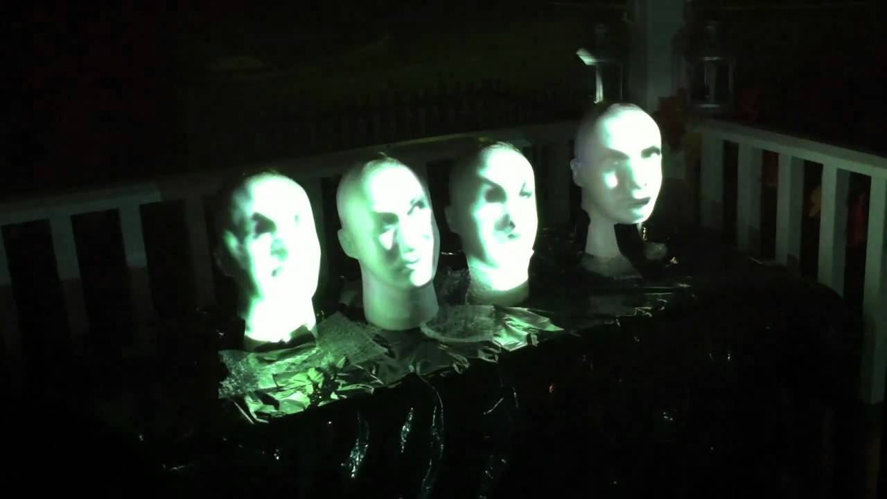 Haunted house ideas for electronichalloween adafruit for Haunted mansion ideas