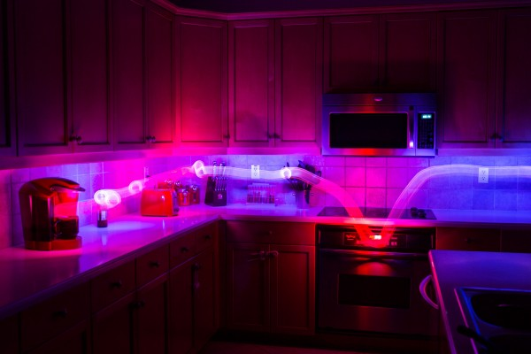 Heat Map Light Painting Photography