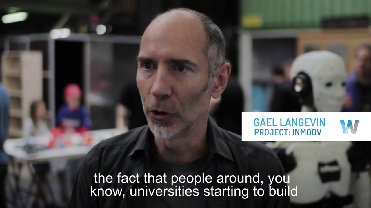 Interview with Gael Langevin, Inventor of the Open Source Lifesize 3D Printed InMoov Robot #3DxRobotics #3DThursday #3DPrinting