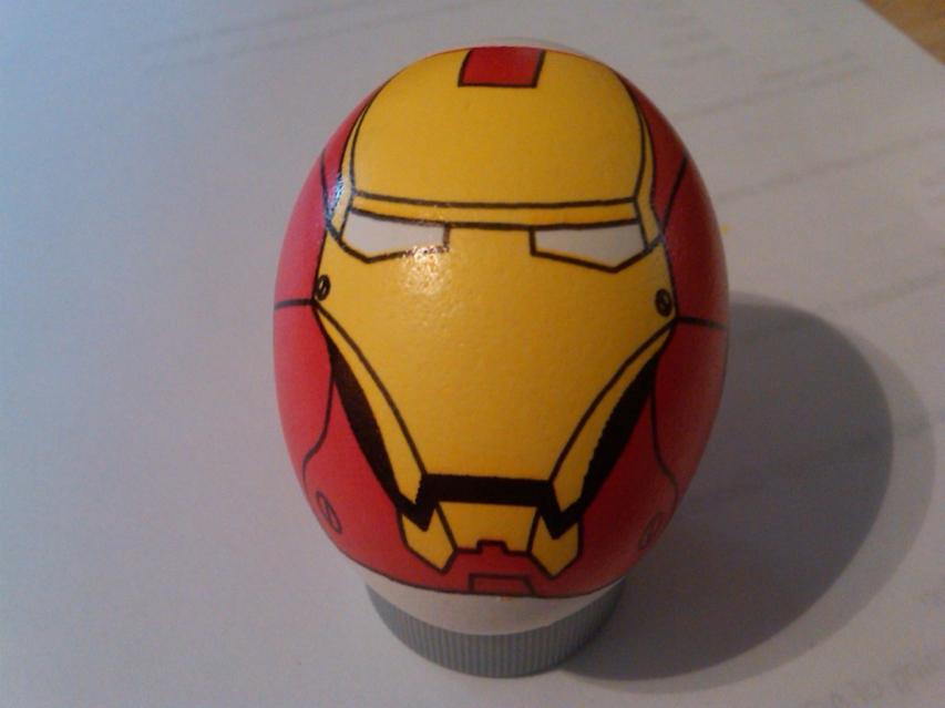 Ironman eggbot