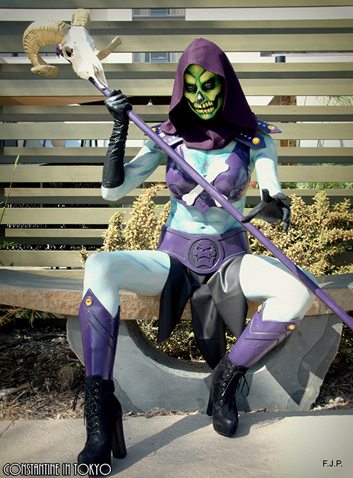 lady skeletor costume