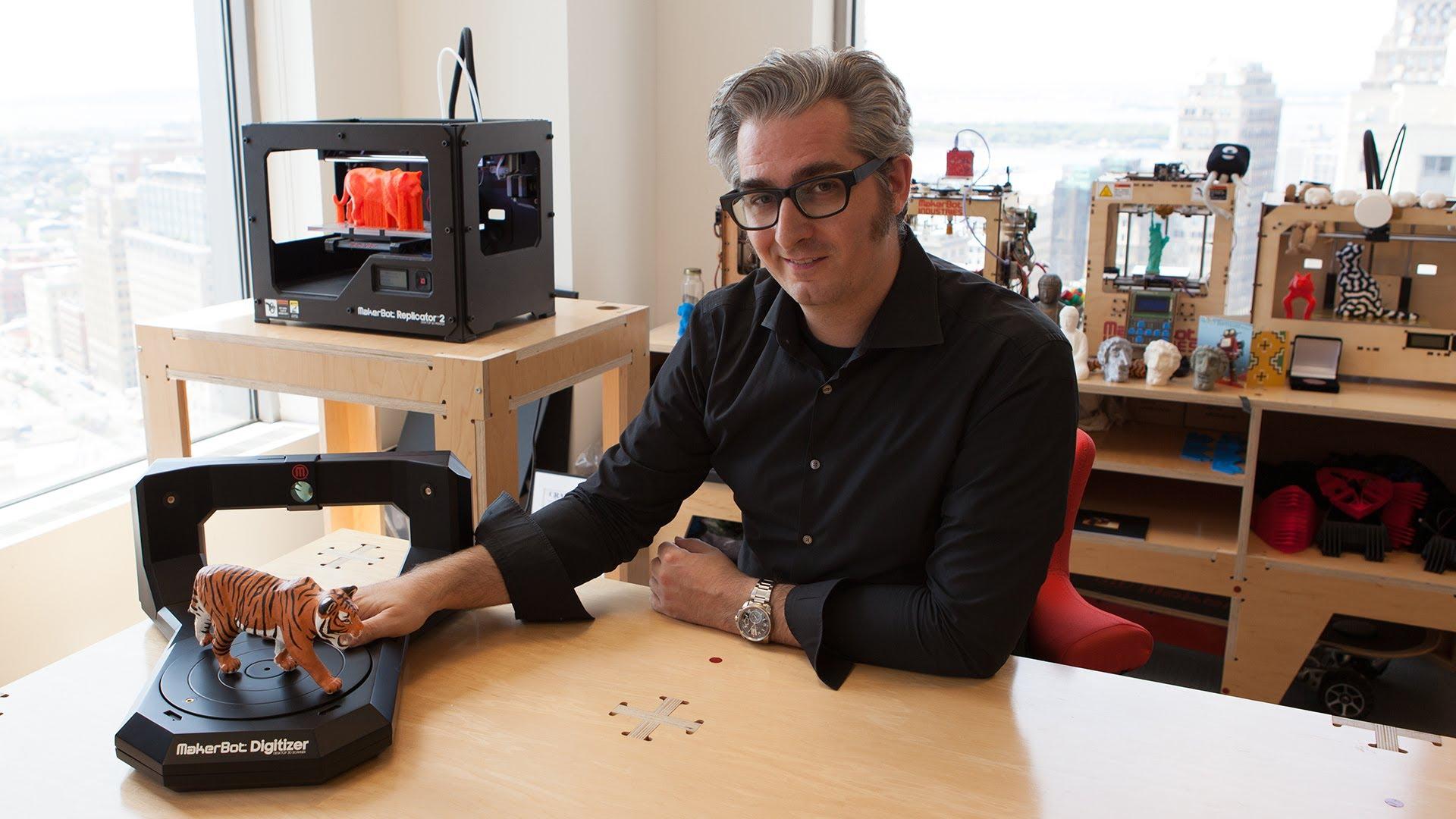 MakerBot Digitizer Desktop 3D Scanner Launches #3DThursday #3DPrinting
