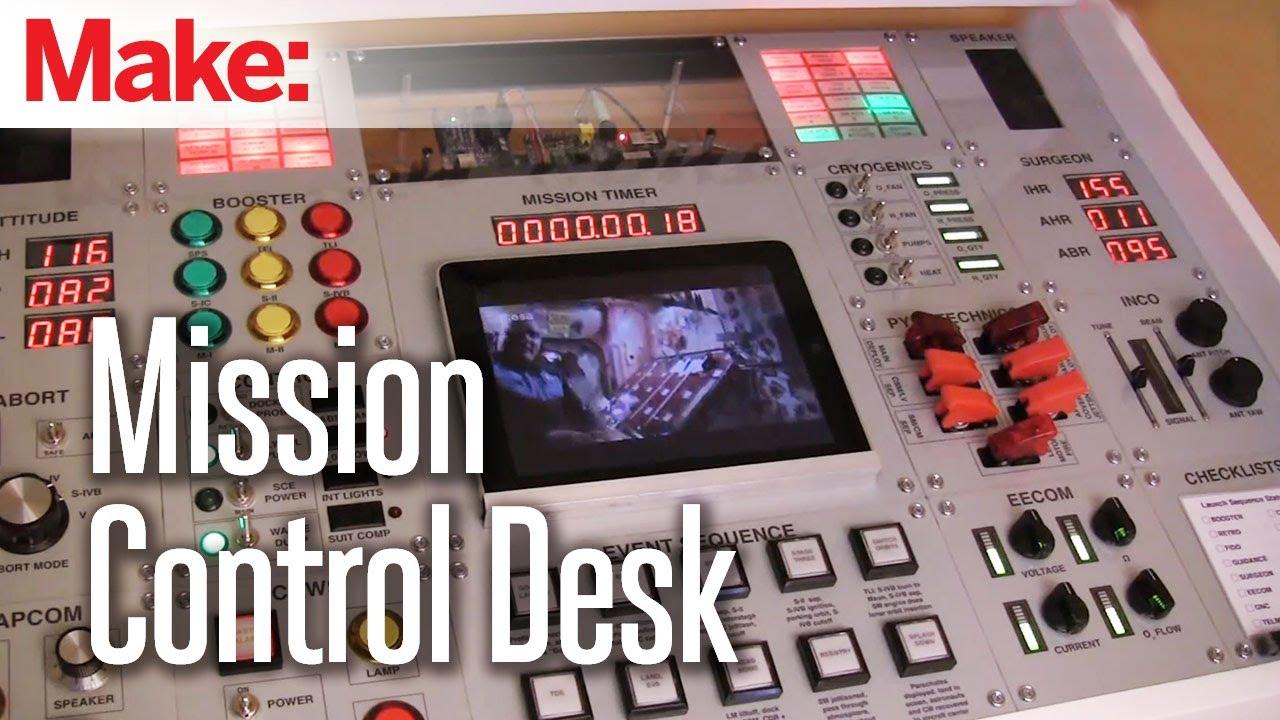 Nasa Mission Control Center Homework Desk Raspberry Pi
