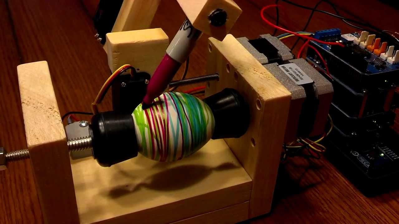 Cables And Sensors >> Random Pattern Easter Egg Machine « Adafruit Industries – Makers, hackers, artists, designers ...