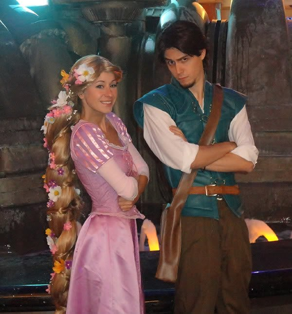 Adorable Rapunzel And Flynn Costumes « Adafruit Industries