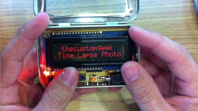 Arduino Project - Make an Arduino Intervalometer For