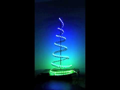 Rgb Led Light Strip Christmas Tree 171 Adafruit Industries