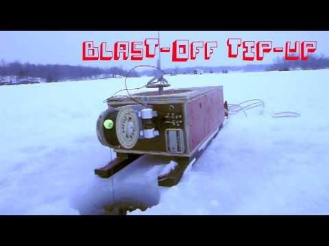 Rockets blast off when fish bite line adafruit for Ice fishing rattle reels