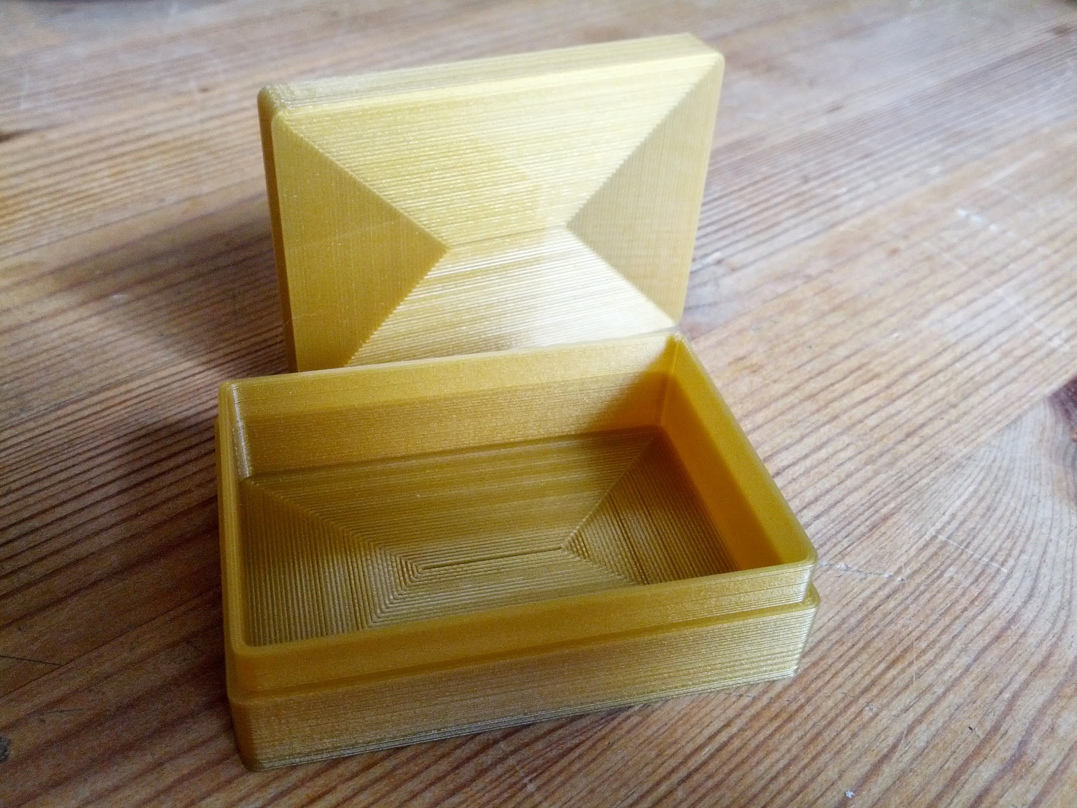 Simplify3D sliced Simple Box