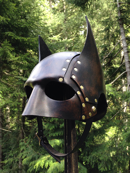 steampunk batman mask