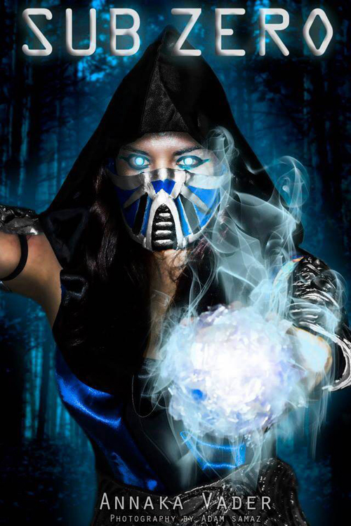 Cool Down With This Mortal Kombat Sub Zero Costume Adafruit Industries Makers Hackers Artists Designers And Engineers