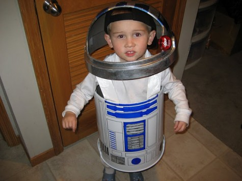 trash can - r2-d2