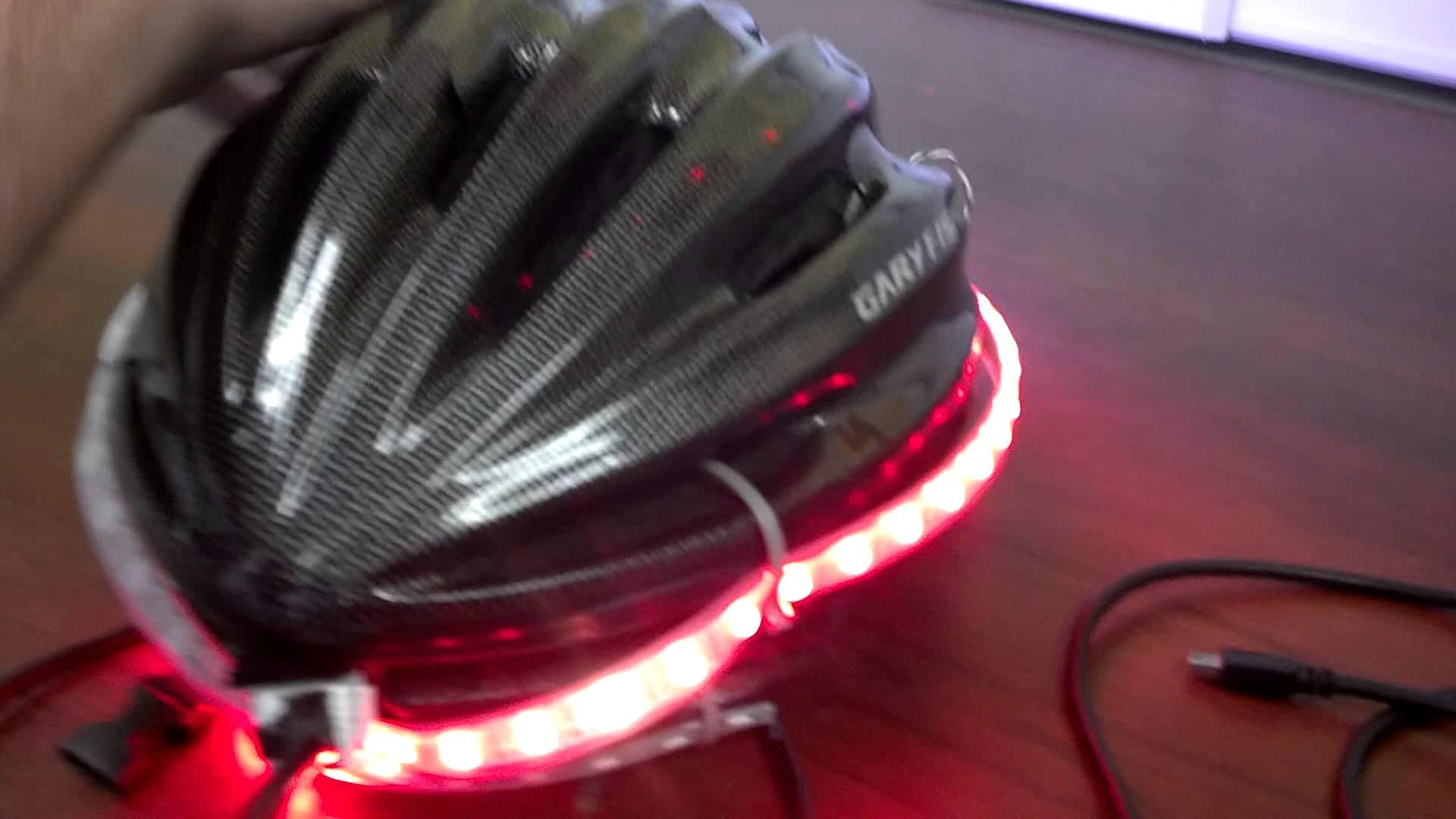 Turn Signal Bike Helmet Wearable on Turn Signal Circuit