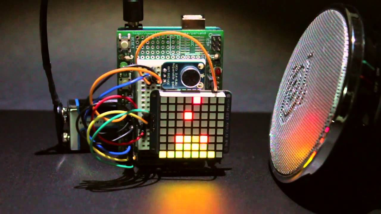 Tutorial tiny arduino music visualizer the piccolo