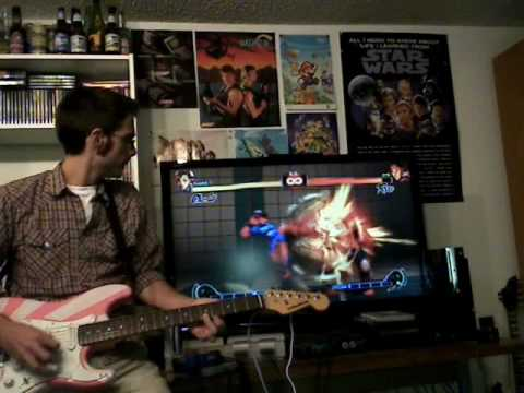 Use a guitar as a fighting game controller « Adafruit