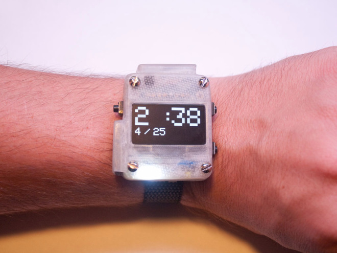 This diy smartwatch won an arduino challenge
