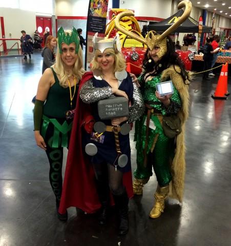Enchantress Thor and Loki