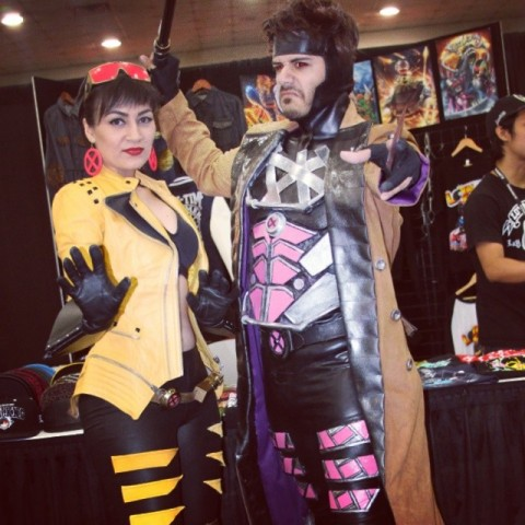 Gambit and Jubilee