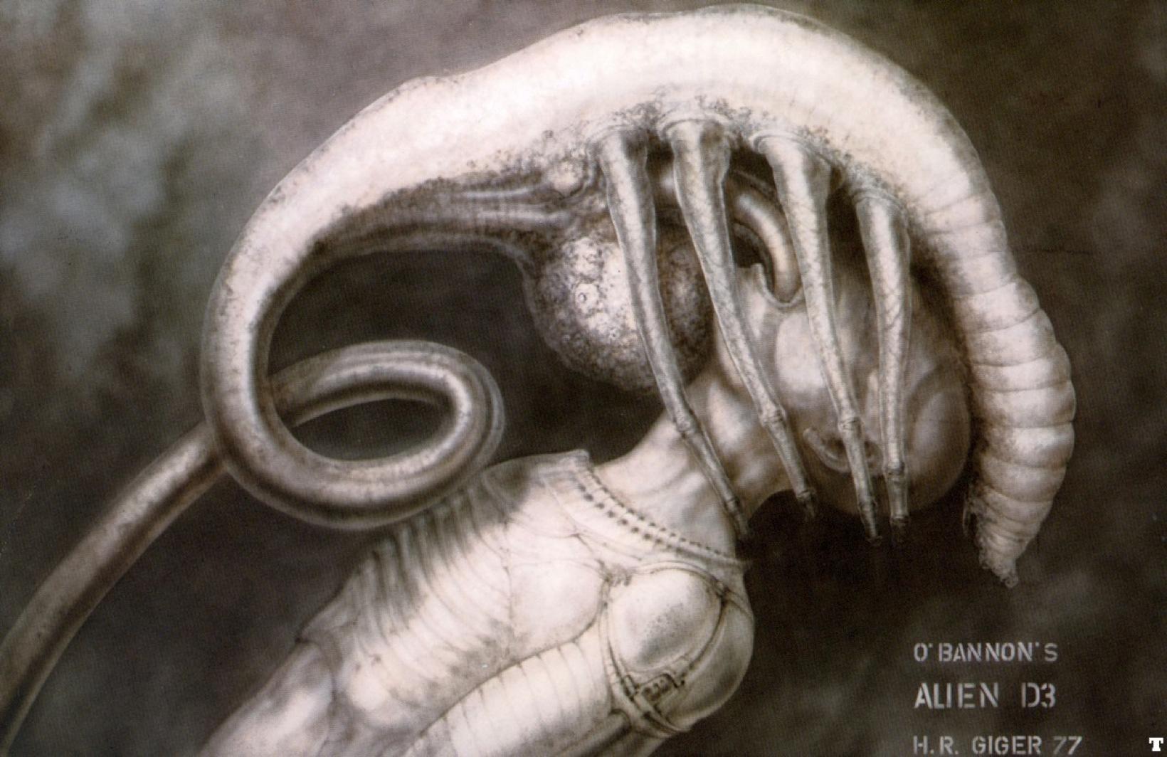Giger-Alien I Facehugger Ii