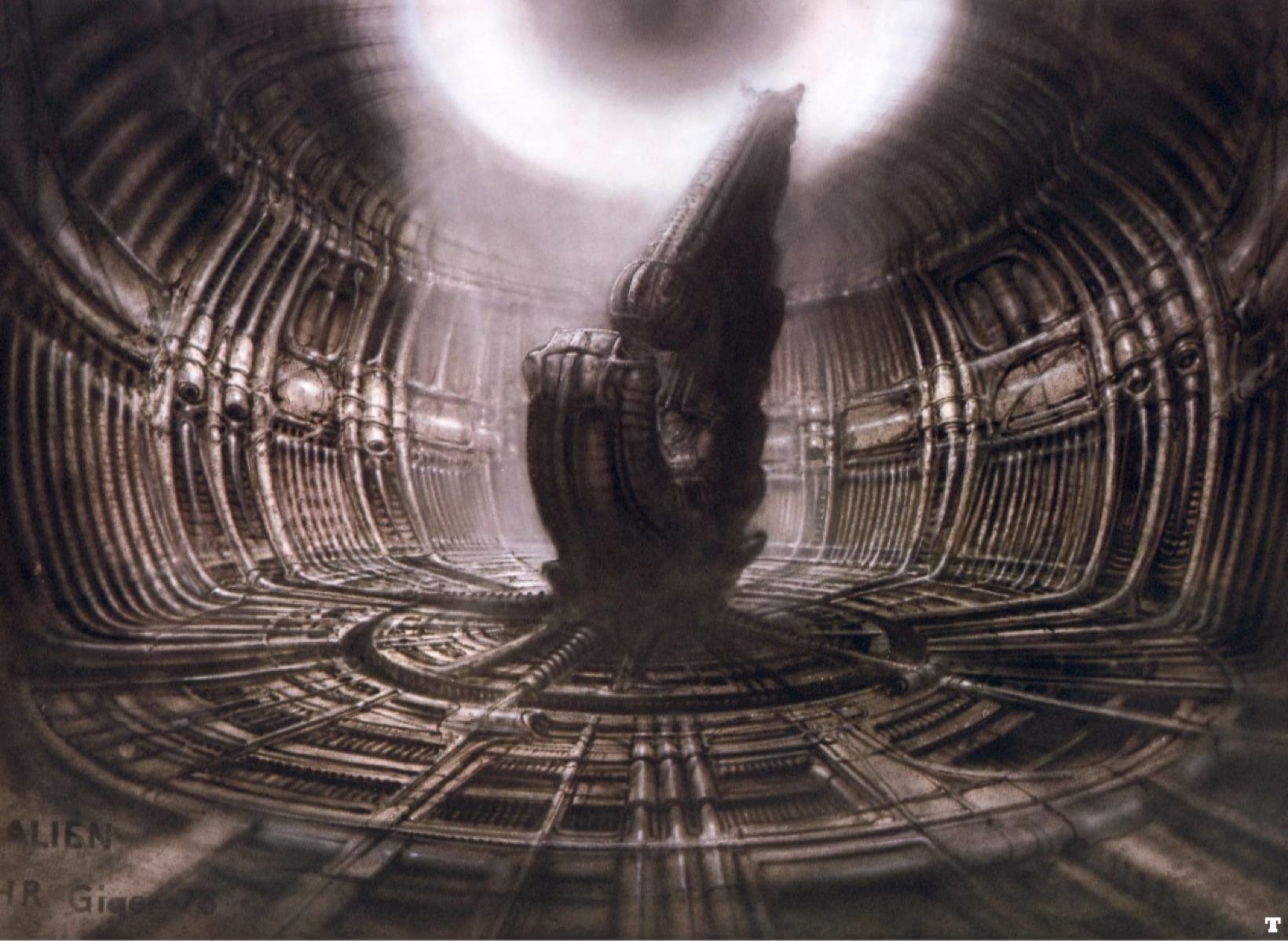 Giger-Alien's Cockpit