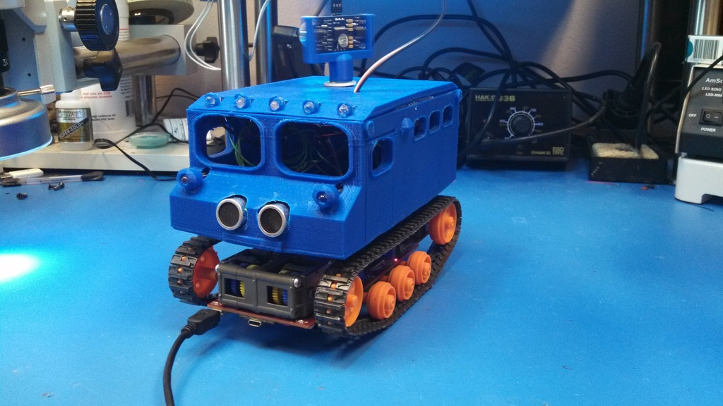 3D Printed Snow Cat Explorer from SLI
