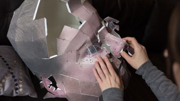 Papercraft  head