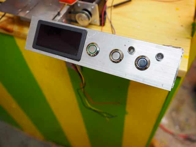 From the Forums: Control Panel from the Stepper Shield